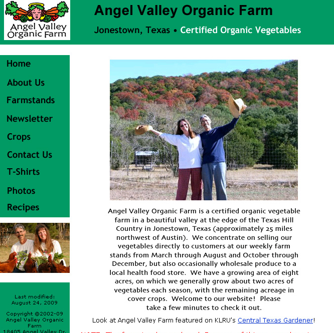 Angel Valley Organic Farm