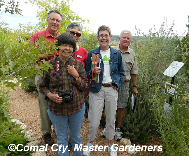 Central Texas Gardener on location at Bulverde/Spring Branch library