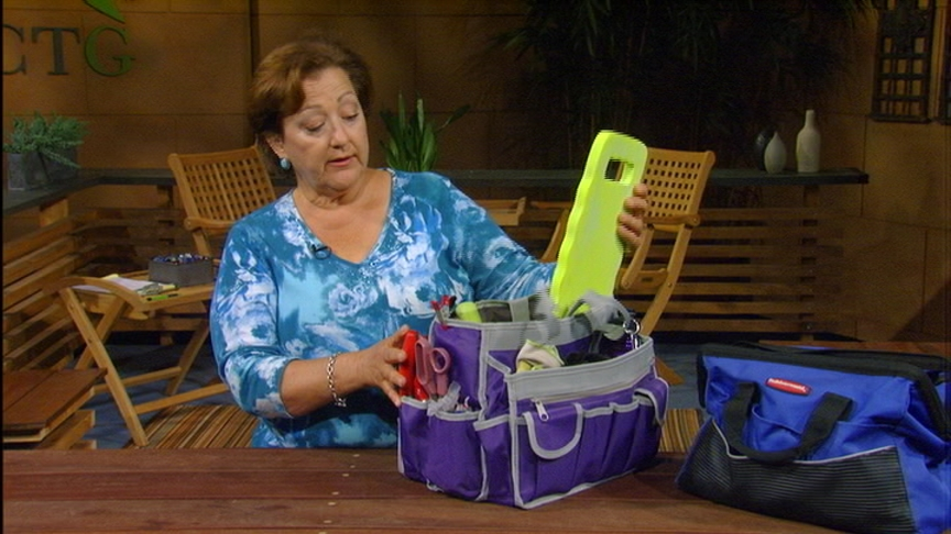 Trisha Shirey's garden bag tools