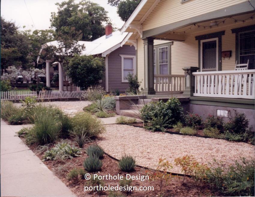 When to prune|No lawn designs|oak wilt | Central Texas Gardener No Lawn Front Yard Design on no maintenance front yard, no lawn ideas, no grass yard ideas, no grass front lawns, no mow front yard, no grass front yard landscaping,