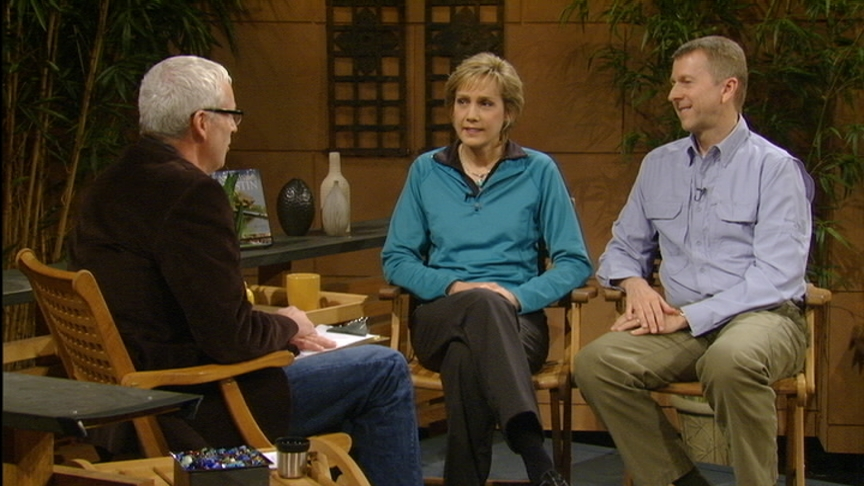 Tom Spencer with Lynne and Jim Weber, Nature Watch Austin