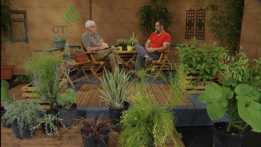 Tom Spencer and Jon Hutson at Central Texas Gardener