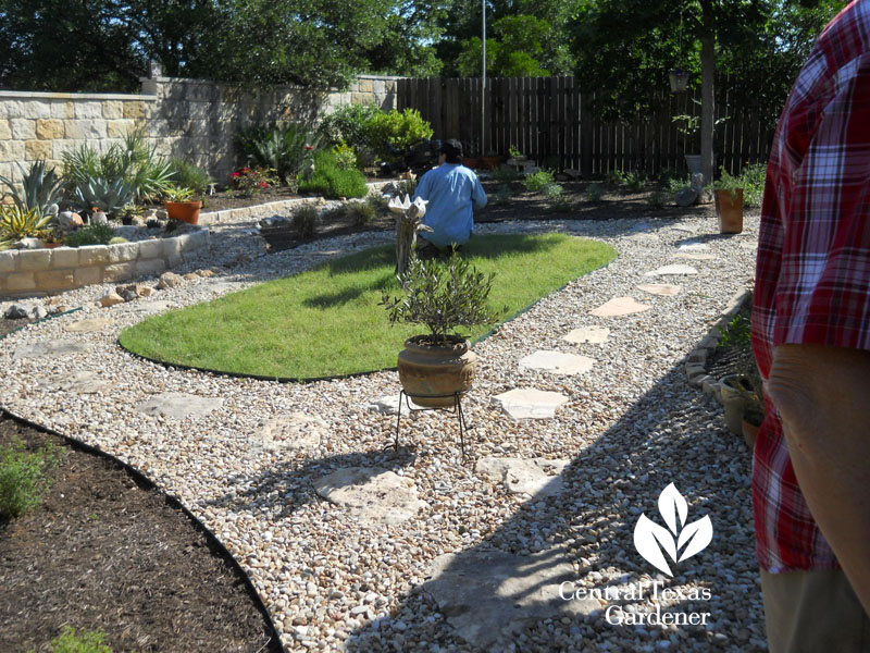 Central Texas Gardener on location with Ed Fuentes