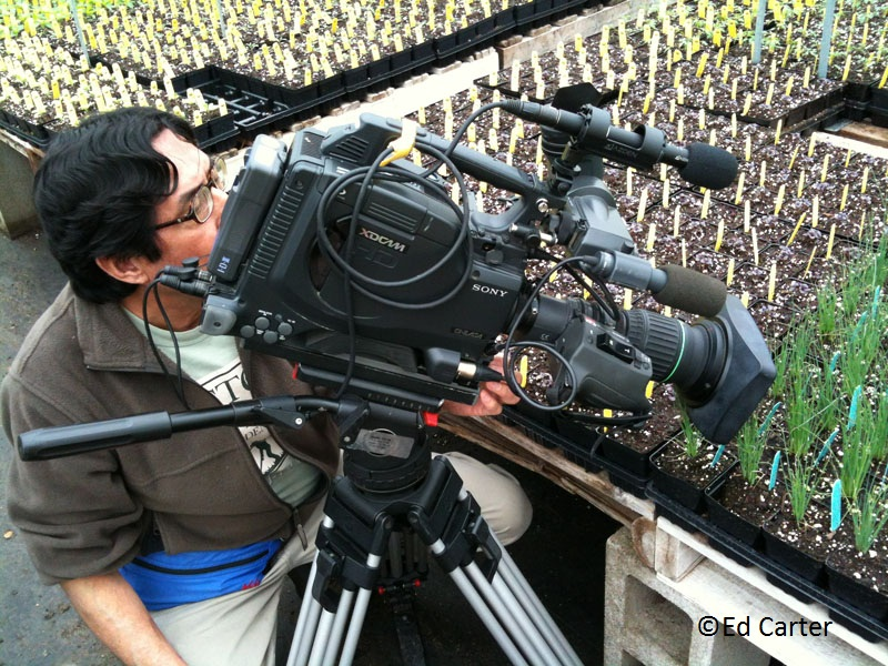 Gabriel Valley Farms Ed Fuentes camera operator