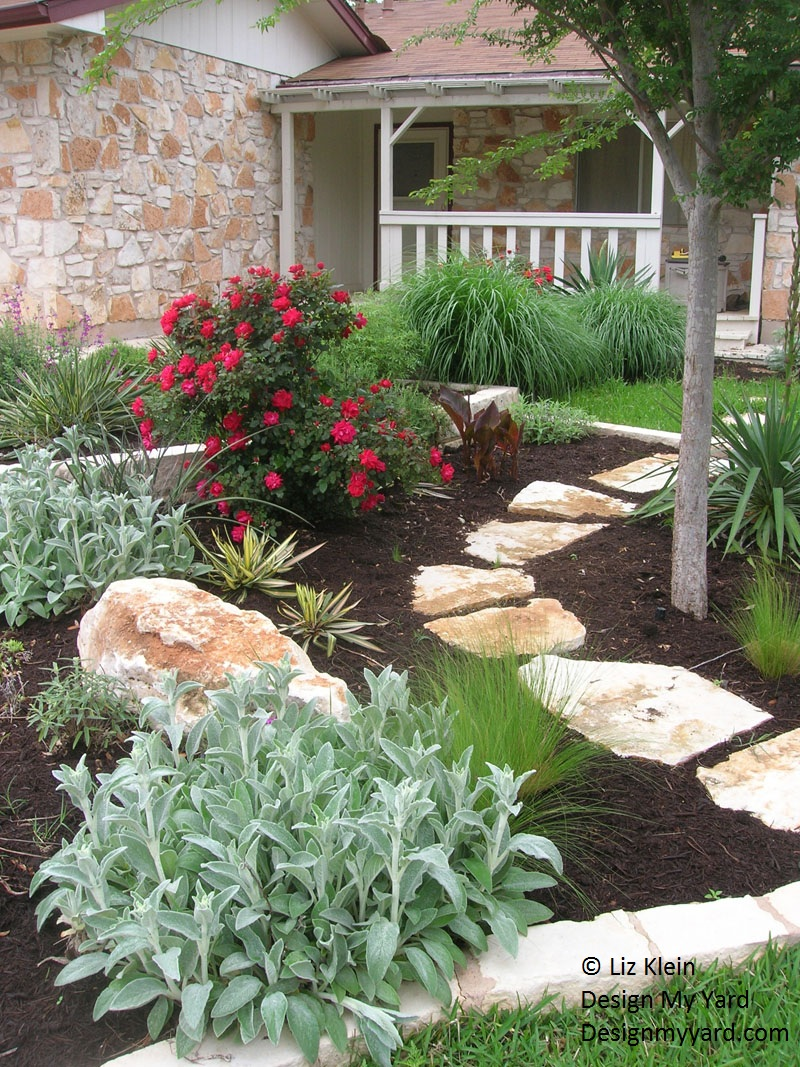 Liz Klein Design My Yard makeover