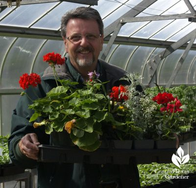 Brent Pemberton Texas Superstar plants A&M