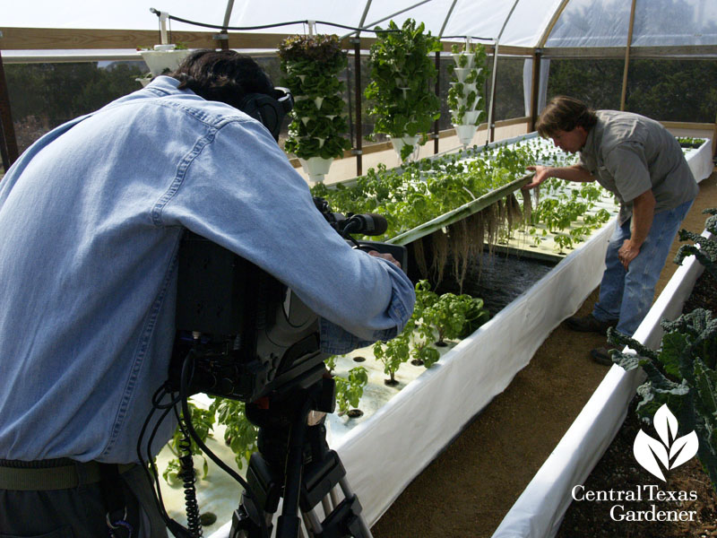 Rob Nash Austin Aquaponics with Ed Fuentes Central Texas Gardener