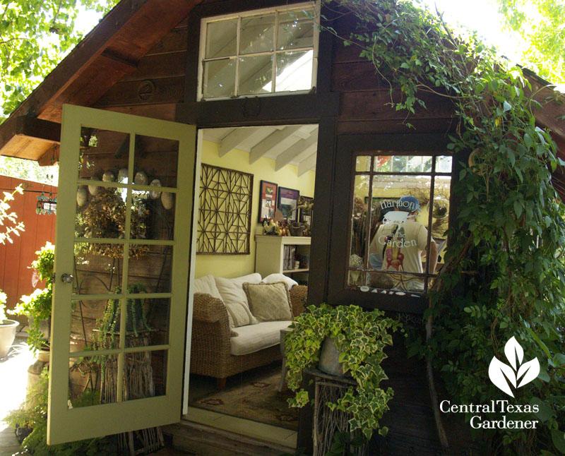 Rebecca Sweet garden office