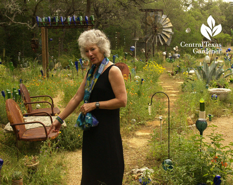 Healing garden by Elayne Lansford on Central Texas Gardener
