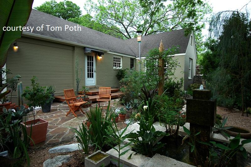 Tom Poth garden