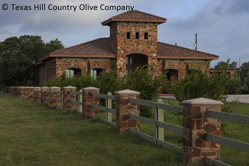 Texas Hill Country Olive Company mill house