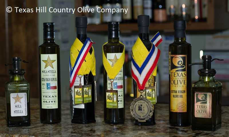Organic olive oils Texas Hill Country Olive Company