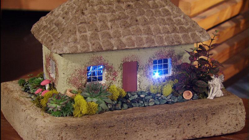 Fairy garden Bonnie's Greenhouse