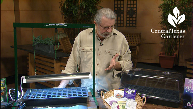 Start seeds indoors John Dromgoole Central Texas Gardener