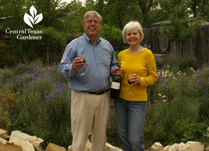 Donna and Mike Fowler Hutto garden Central Texas Gardener
