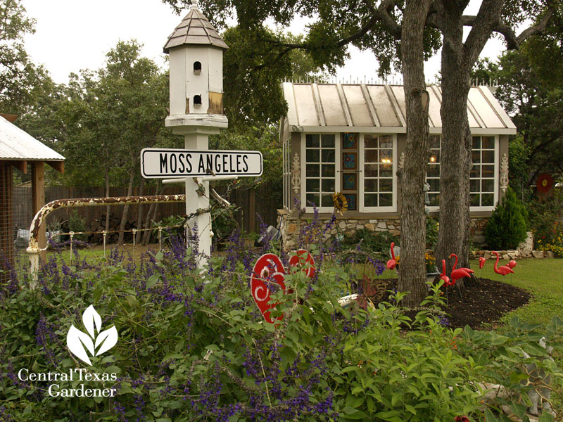 garden conservatory and art Central Texas Gardener