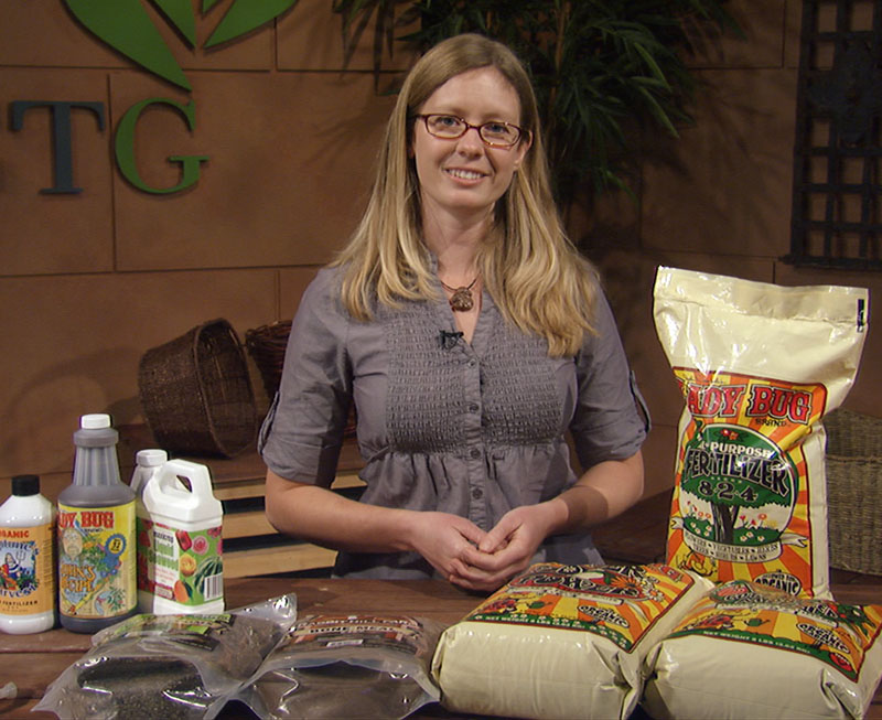 How to fertilize with Brandi Blaisdell, The Natural Gardener