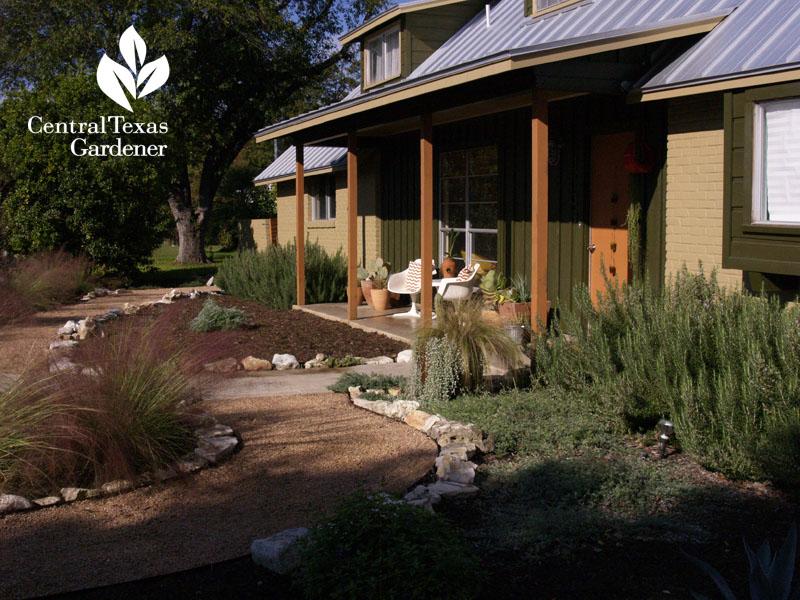 xeric style wildlife garden house makeover san antonio