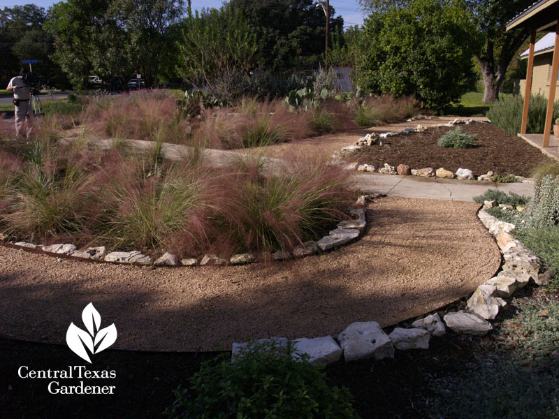 Xeric garden style paths San Antonio Texas