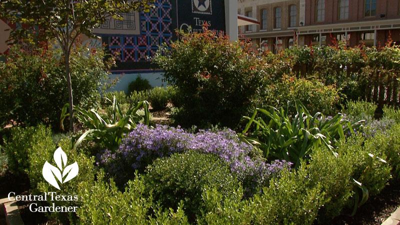 Texas Quilt Museum garden by Mitzi VanSant