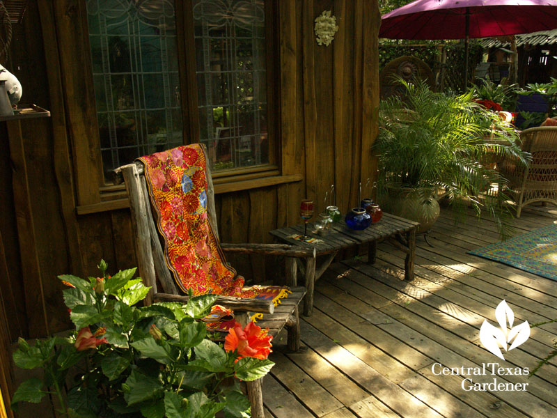 lucinda hutson's outdoor living rooms central Texas gardener austin