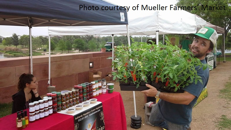 Lone Star Nursery at Mueller Farmers' Market Austin Texas