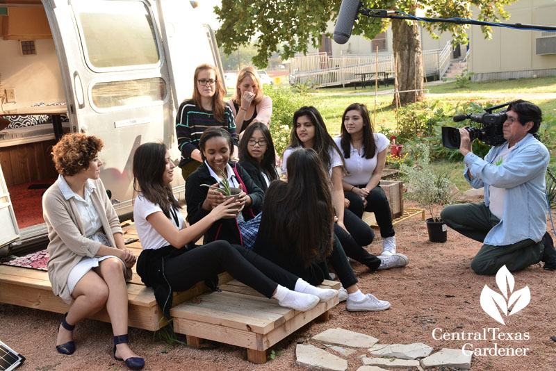 Ann Richards School for Young Women Leaders Airstream project