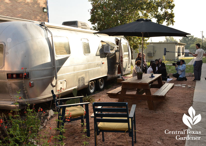 Ann Richards School for Young Women Leaders Airstream and garden project