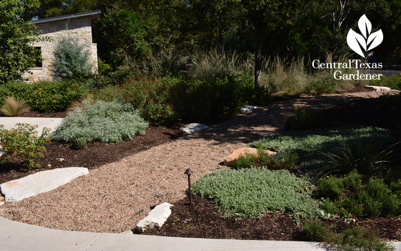 front path wander native plants Central Texas Gardener