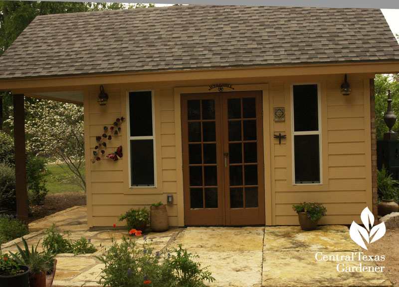 cute garden shed central texas gardener