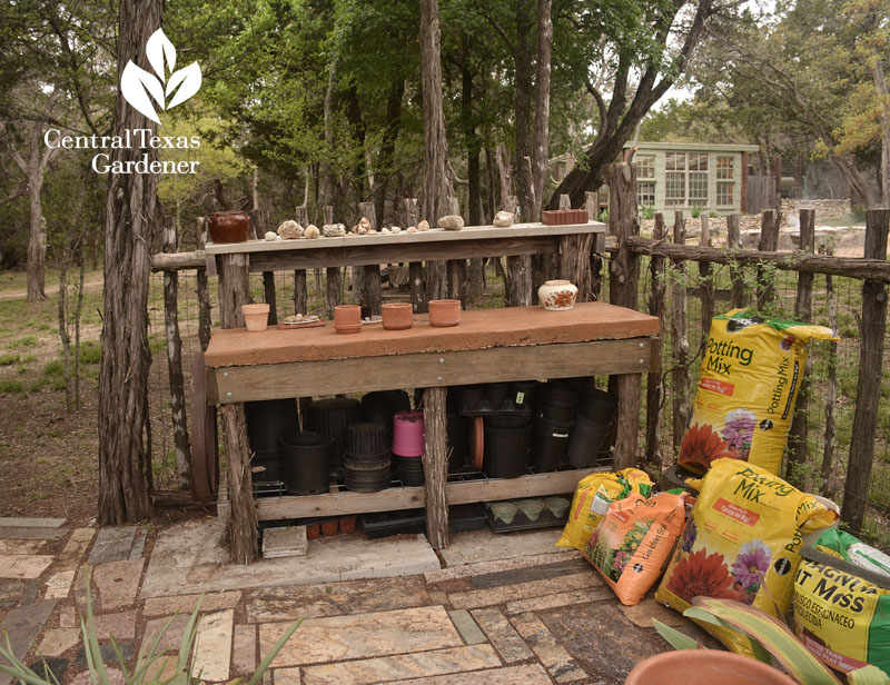 cedar corral for garden supplies Liberty Hill Central Texas Gardener