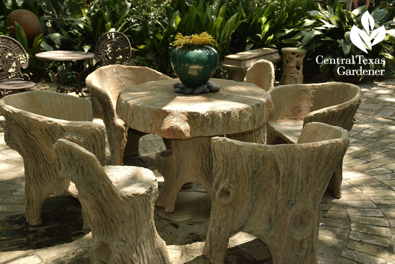 Carlos Cortez faux bois furniture Central Texas Gardener