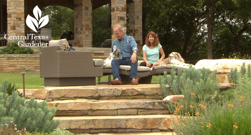 Valerie and Kirk Walden Central Texas Gardener