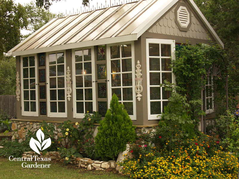 charming backyard conservatory Central Texas Gardener