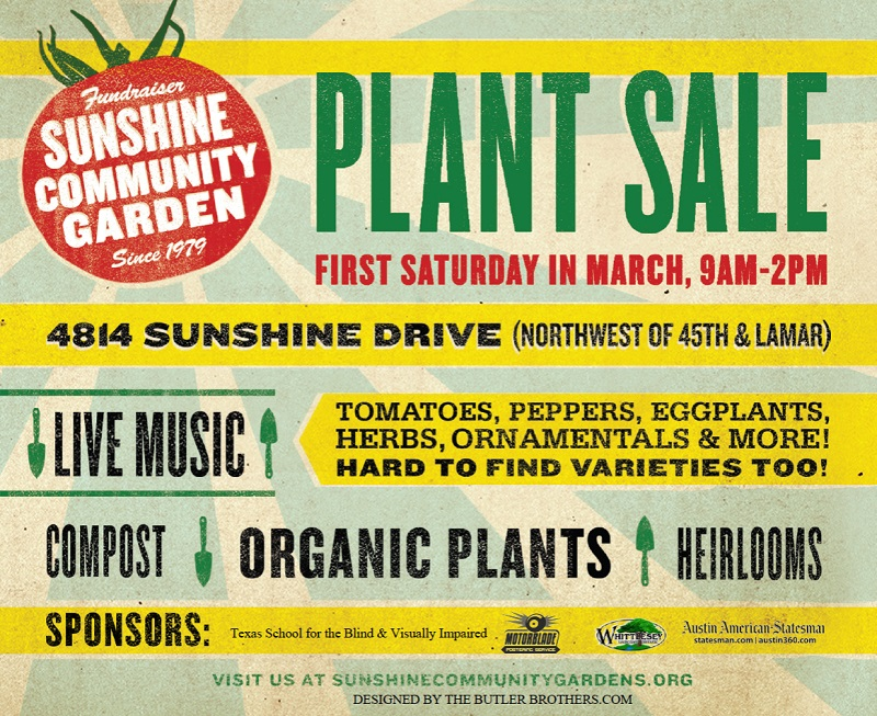 Sunshine Community Gardens plant sale