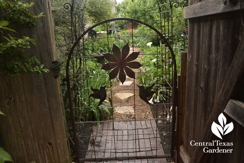 garden gate design Jim LaPaso Central Texas Gardener