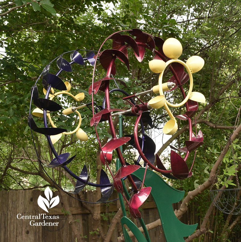 kinetic sculpture Jim LaPaso Central Texas Gardener