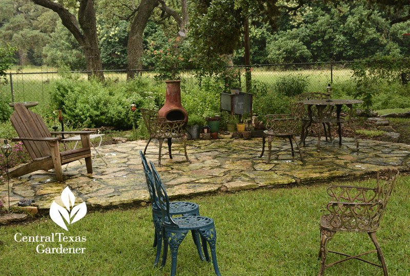 stone patio outdoor living Central Texas Gardener