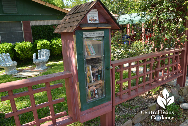 Little Free Library Central Texas Gardener