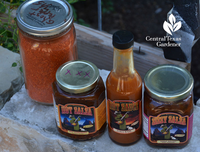 ground ghost pepper animal control homemade salsa Central Texas Gardener