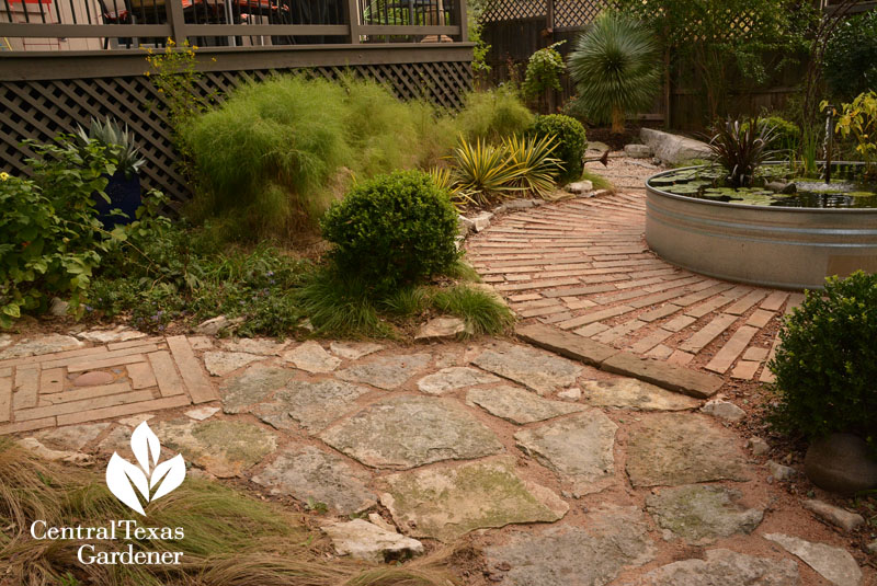 creative stone paths Pam Penick Central Texas Gardener