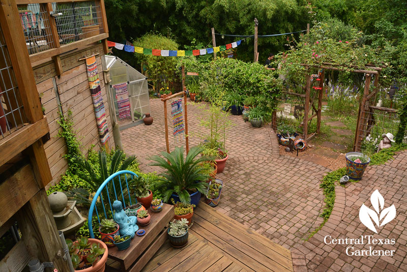 multi-level garden destinations Central Texas Gardener