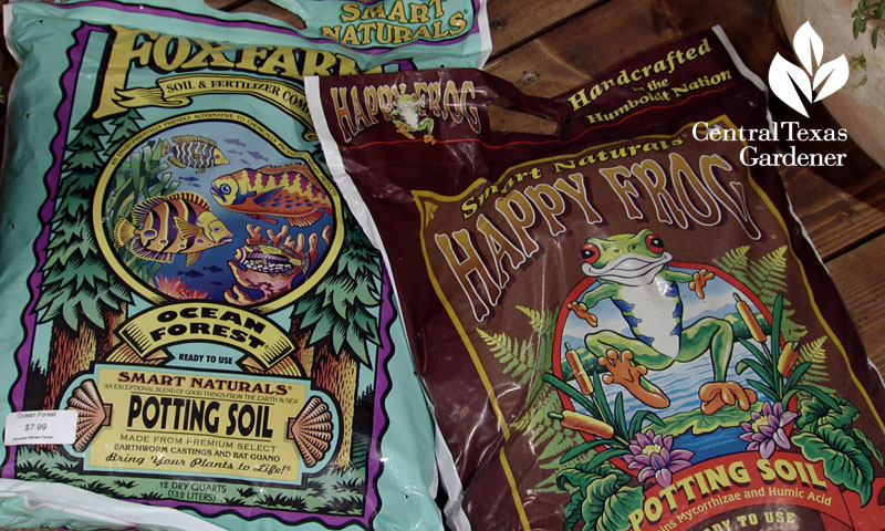 organic potting soils Central Texas Gardener