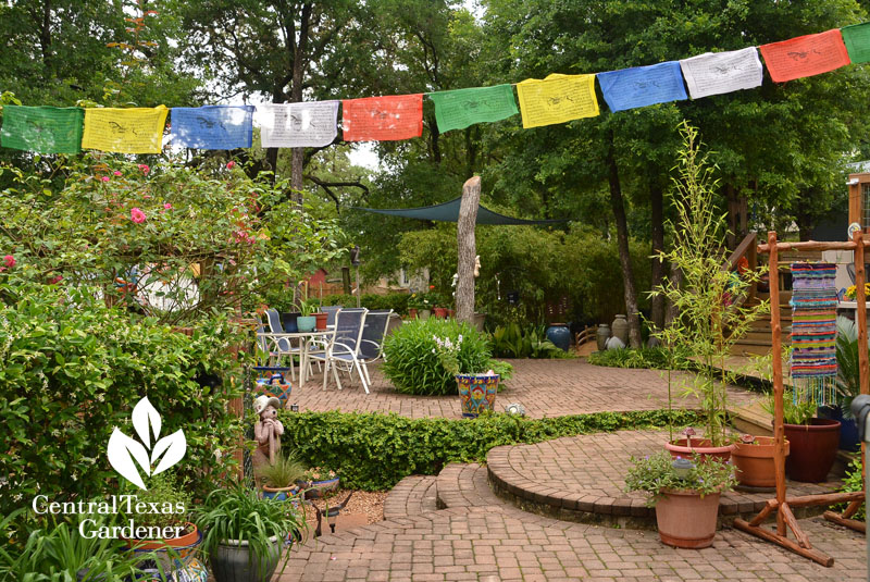 patio main prayer flags Central Texas Gardener