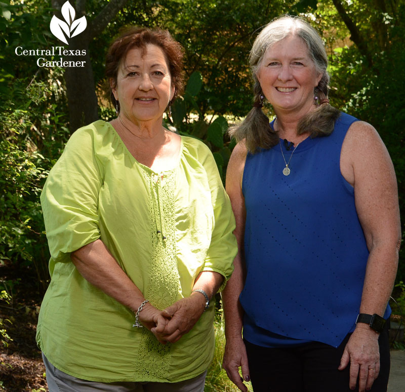 Trisha Shirey and Barbara Wise shade plants Central Texas Gardener
