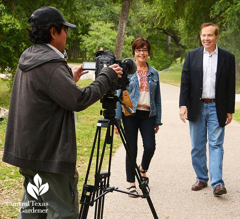 Jill Nokes and Richard Craig Pease Park Conservancy Central Texas Gardener