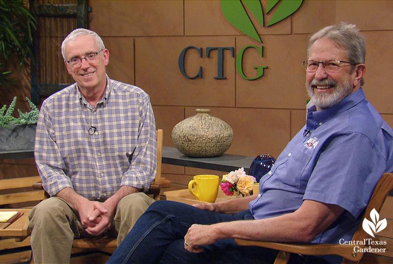Tom Spencer and Michael Shoup Antique Rose Emporium Central Texas Gardener