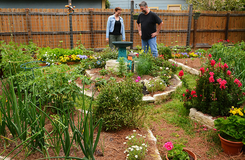 garden Susan Snyder and Mark Hathaway