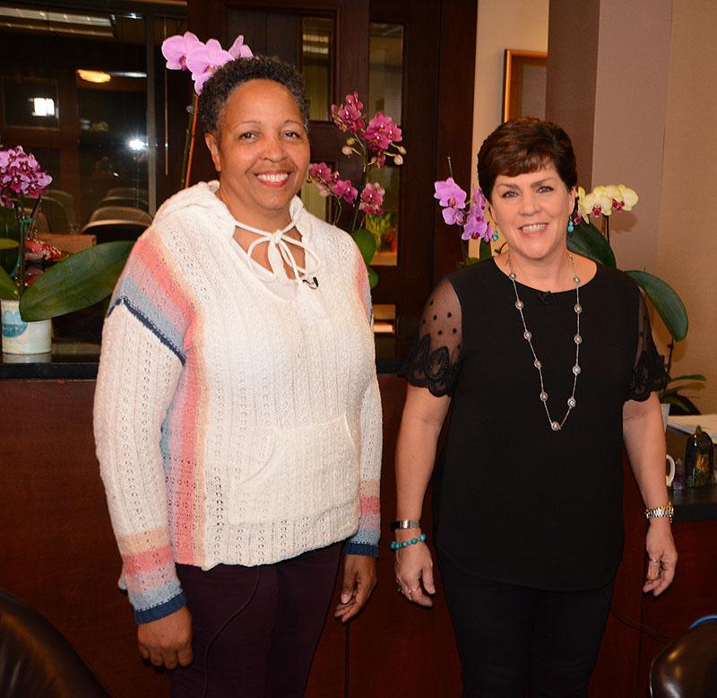 garden Lucy Newton and Sheryl Hawkins
