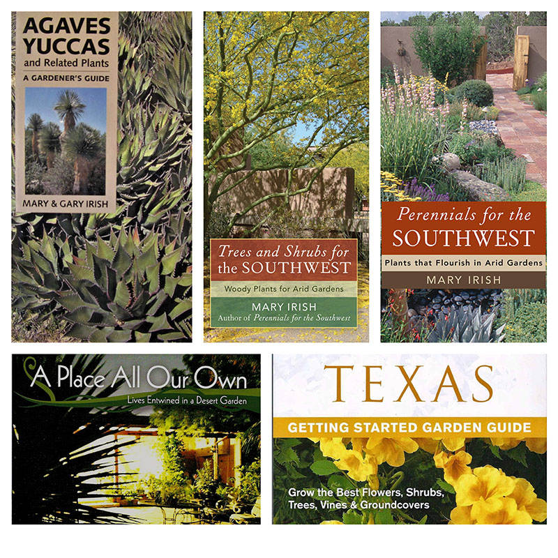 Mary Irish books for arid Southwest gardens